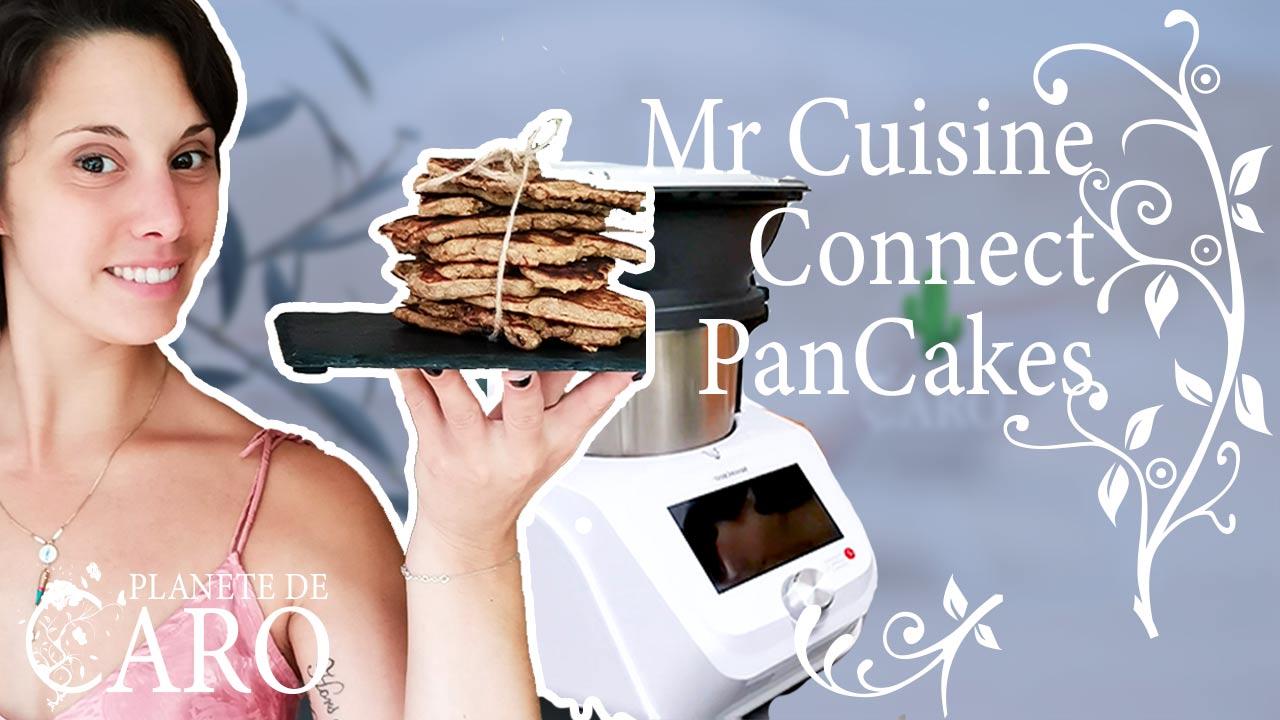 Recette pancakes Mr Cuisine Connect