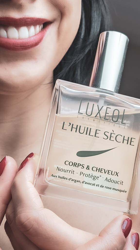 Luxeol huile corps