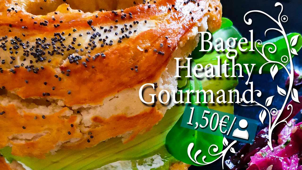 Recette de Bagel Healthy et Gourmand